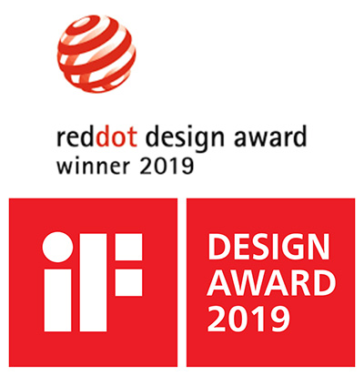 logo iF 2019 a Red Dot 2019