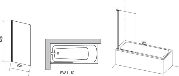 PVS1 kádparaván
