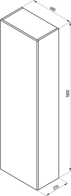 SB Formy magas faliszekrény