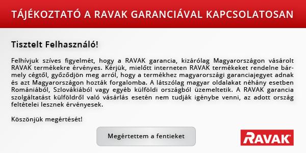 d116e164a75f Jótállás - RAVAK Hungary Kft.