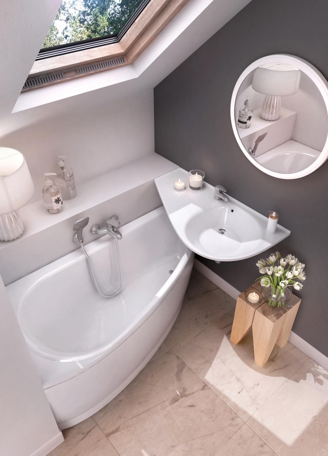 Kis fürdőszoba? A RAVAK-kal nagy lehetőség! - RAVAK Hungary Kft.