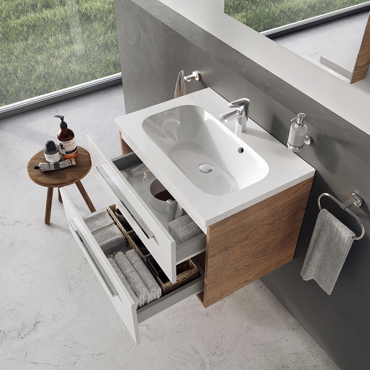 Tökéletes fürdőszobai megoldás a RAVAK bútor