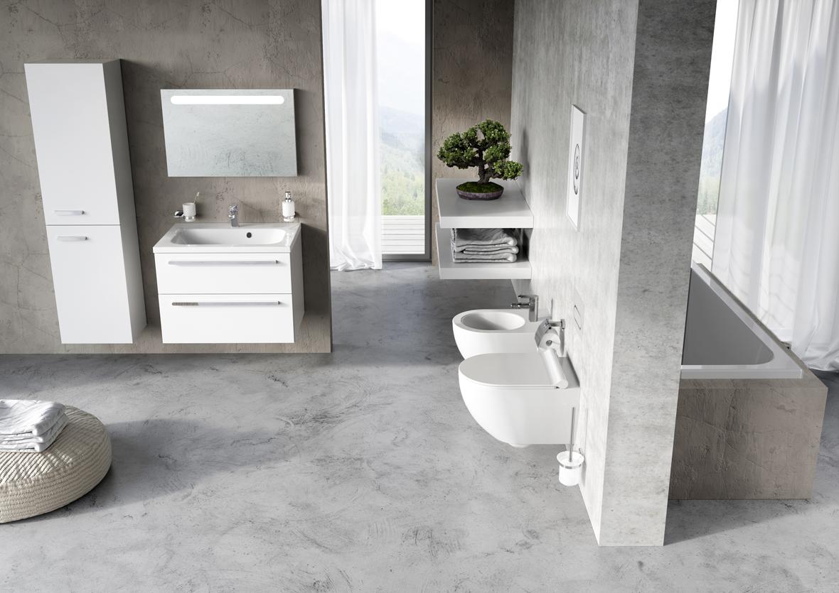 Fürdőszobai megoldás RAVAK koncepcióval