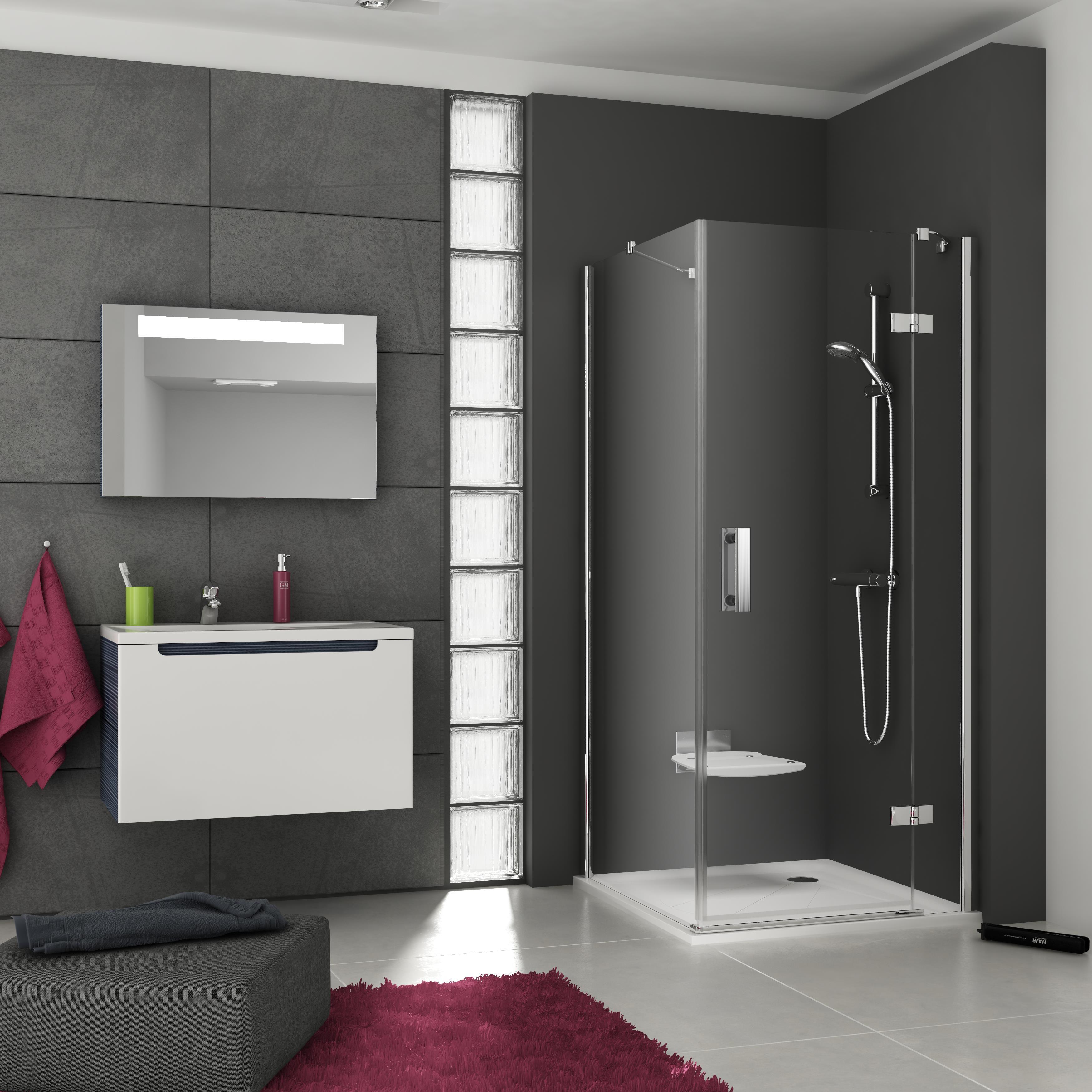 A SmartLine zuhanykabinok kifinomult utódai a Glass Line zuhanyzóknak.