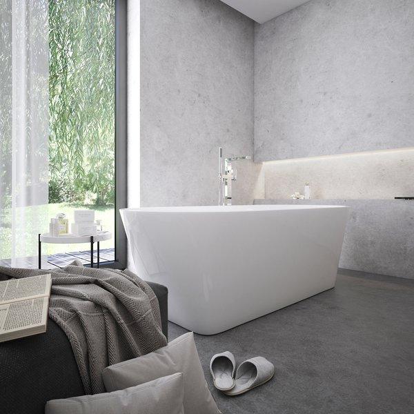 A RAVAK akril kádjai nem csak kényelmesek, hanem jól tartják a fürdővíz hőmérsékletét.